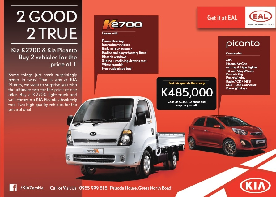 High Quality 14.04.2016 U2013 BUY TWO VEHICLES FOR THE PRICE OF ONE. Kia