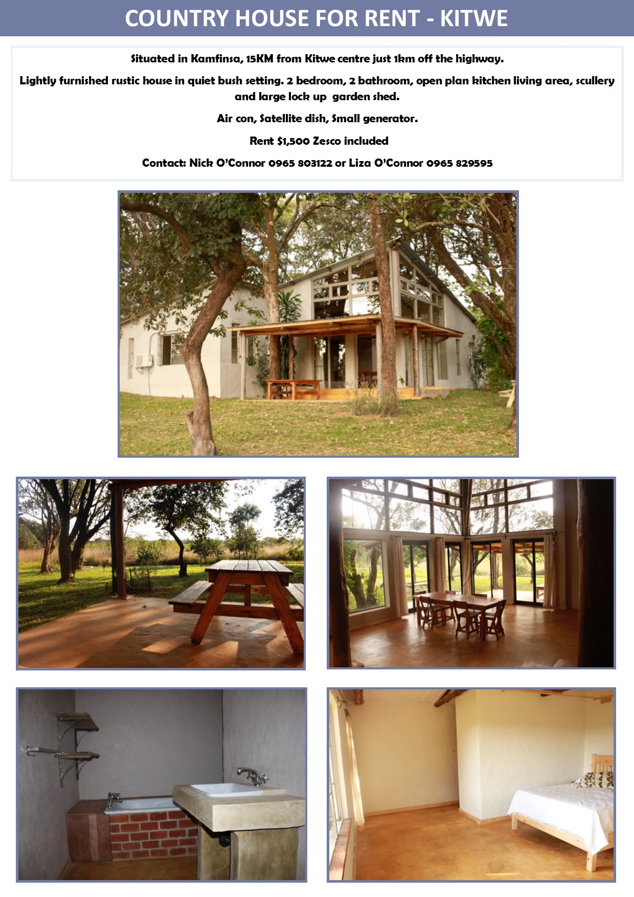 20 05 2016 - country house for rent