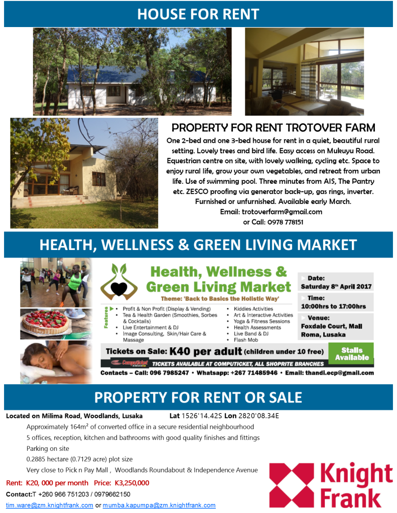 20 03 2017 House For Rent Health Wellness Amp Green