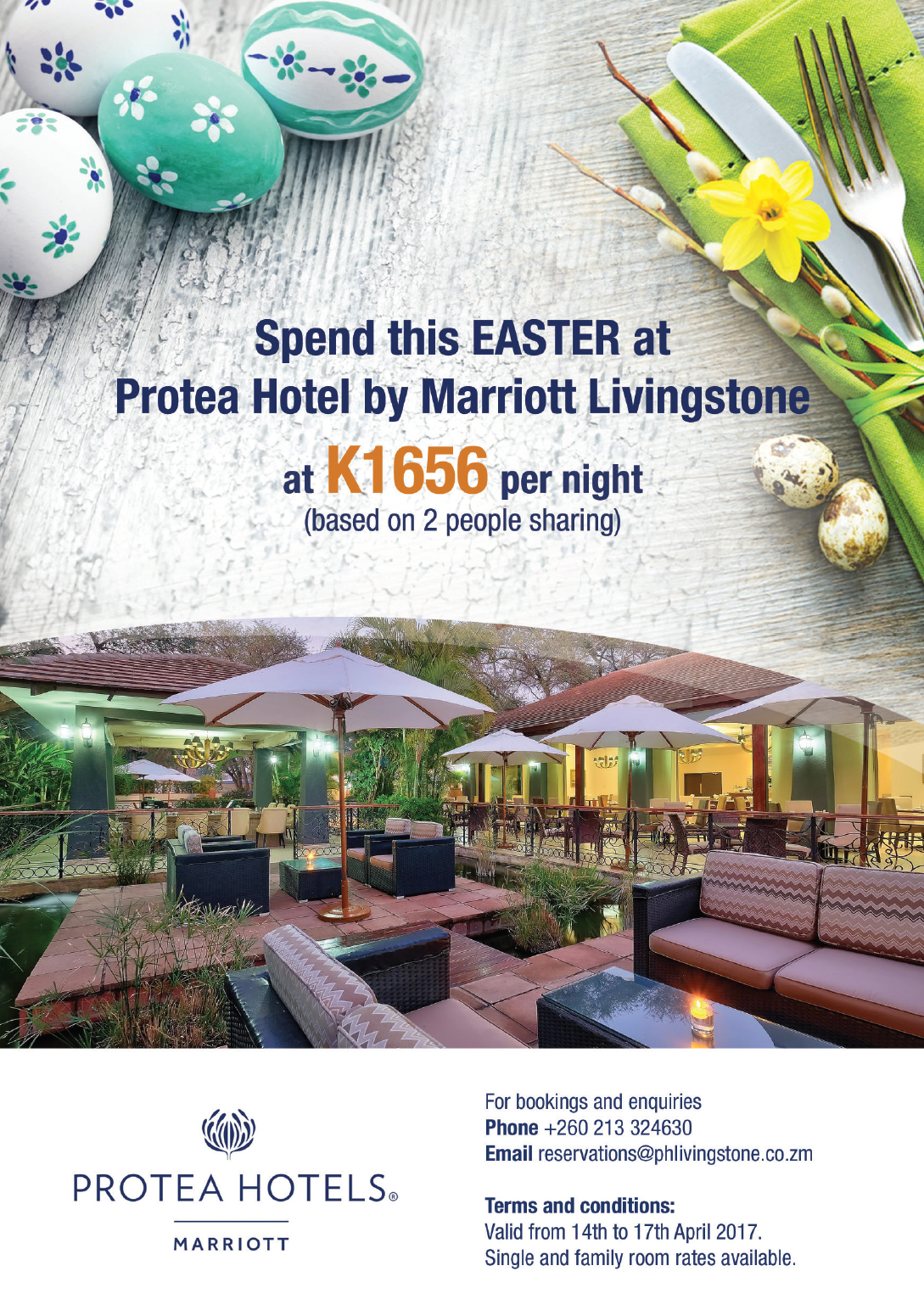 03 04 2017 Protea Hotel By Marriott Livingstone Easter