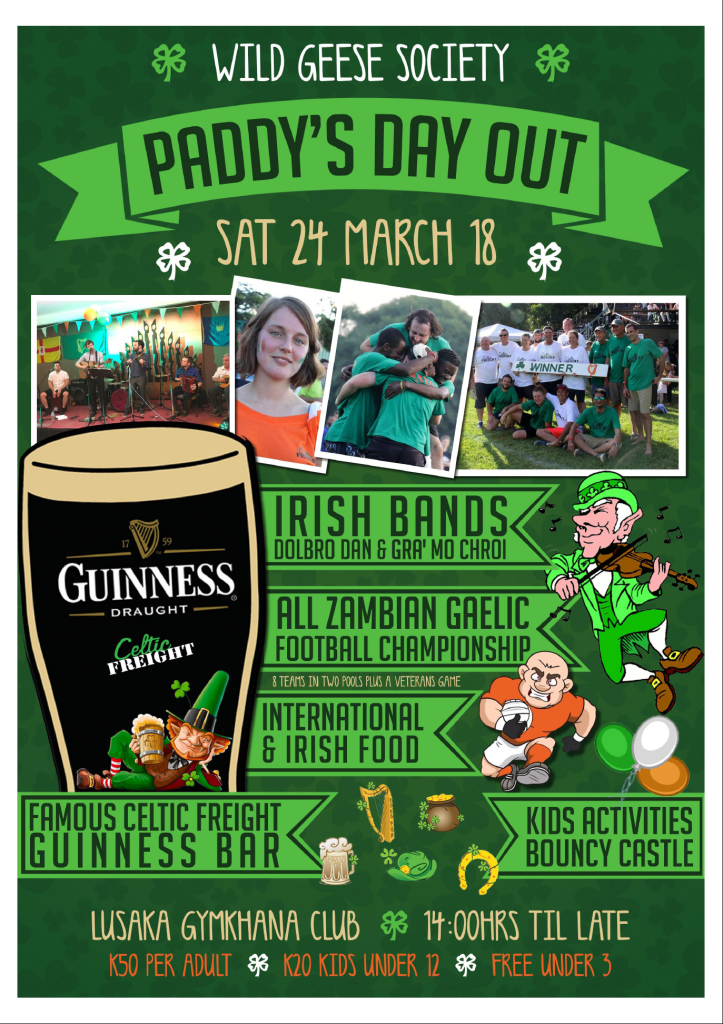 PADDYS DAY OUT
